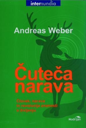 Naslovnica knjige Čuteča narava