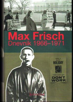 Naslovnica Dnevnika Maxa Frischa