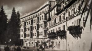 Blejski hotel Park, v katerem je med 2. svetovno vojno kar vrvelo od vohunov.