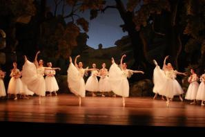 Prizor iz baleta Silfida