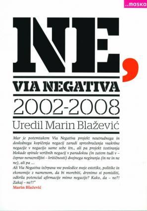 Naslovnica knjige NE, Via Negativa 2002-2008