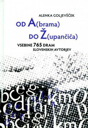 Naslovnica knjige Od A(brama) do Ž(upančiča)