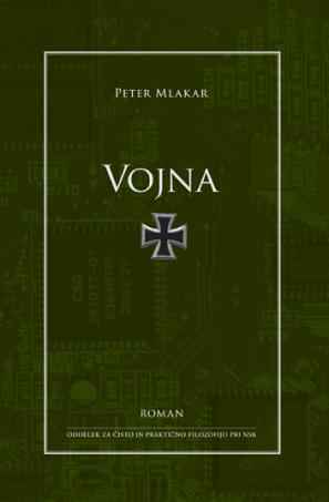 Naslovnica romana Vojna