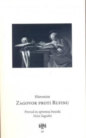 Naslovnica knjige Zagovor proti Rufinu
