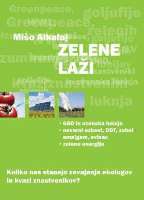 Naslovnica knjige Zelene laži