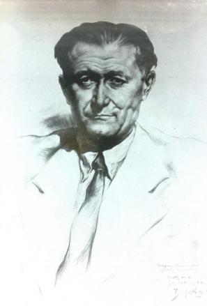 Portret Jean-Yvesa Lacroixa (Božidar Jakac)