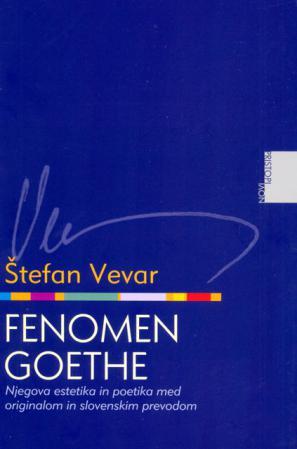 Naslovnica knjige Fenomen Goethe