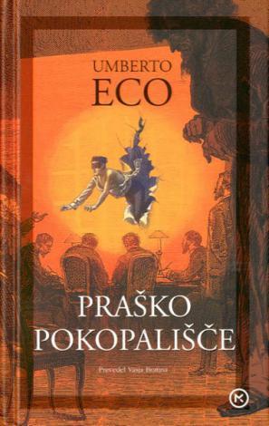 Naslovnica romana Praško pokopališče