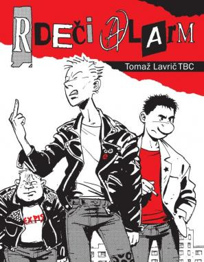 Tomač Lavrič TBC: Rdeči alarm, naslovnica