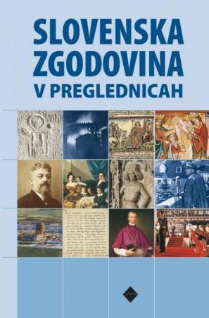 Naslovnica knjige Slovenska zgodovina v preglednicah