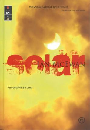 Naslovnica knjige Solar