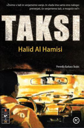 Naslovnica romana Taksi