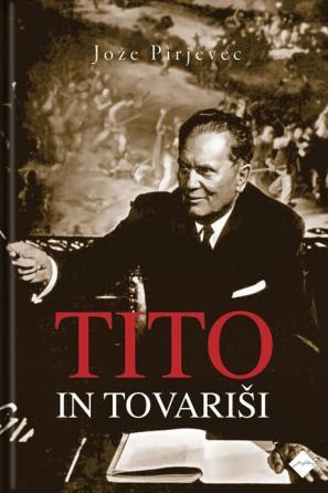 Naslovnica knjige Tito in tovariši