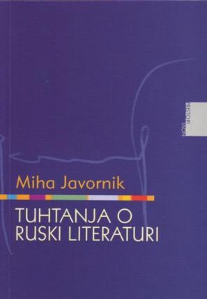 Naslovnica knjige Tuhtanja o ruski literaturi