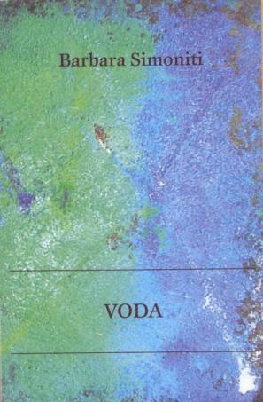 Naslovnica pesniške zbirke Voda