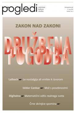 Naslovnica tretje številke Pogledov (leto 2010)